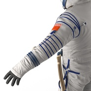 Russian Space Suit Sokol KV2 Rigged. Preview 44