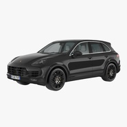 Porsche Cayenne Turbo S 2015 Rigged