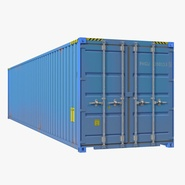 40 ft ISO Container Blue