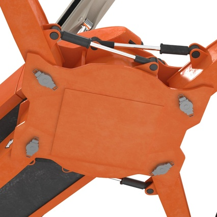 Telescopic Boom Lift Generic 4 Pose 2. Render 40