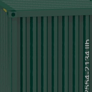 40 ft High Cube Container Green. Preview 27