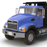 Dump Truck Mack Rigged. Preview 48