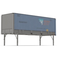 Swap Body Container ISO Blue. Preview 5