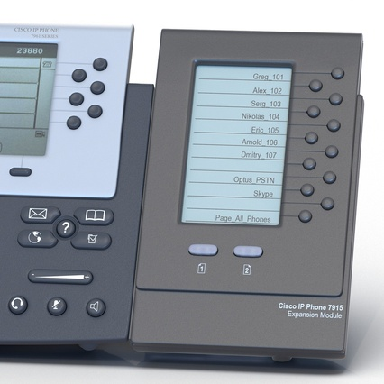 Cisco IP Phones Collection 6. Render 17