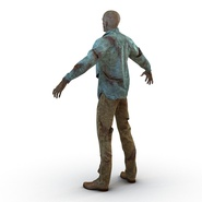 Zombie Rigged for Cinema 4D. Preview 17