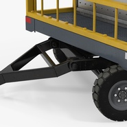 Airport Luggage Trolley Baggage Trailer with Container. Preview 18