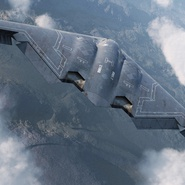 Stealth Bomber B-2 Spirit Rigged. Preview 8