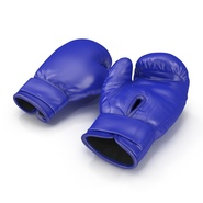 Boxing Gloves Blue. Preview 3