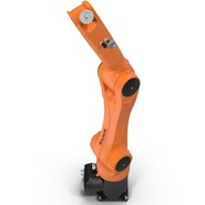 Kuka Robot KR 10 R1100 Rigged. Preview 19