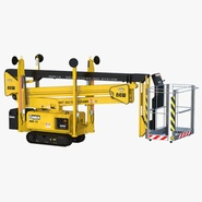 Telescopic Boom Lift Yellow 2