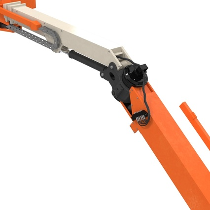 Telescopic Boom Lift Generic 4 Pose 2. Render 63