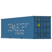 40 ft High Cube Container Blue 2. Preview 9