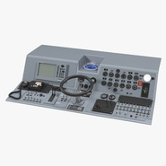 Military Boat Control Panel 2