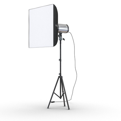 Photo Studio Lamps Collection. Render 4