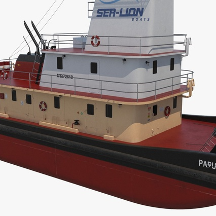 Pushboat. Render 12