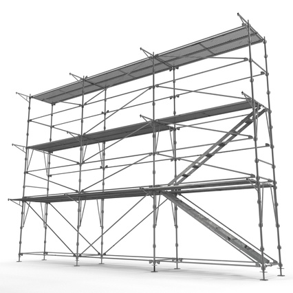Scaffolding Collection 2. Render 22