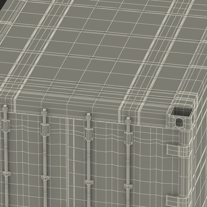 ISO Refrigerated Container. Render 48
