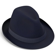 Fedora Hat Blue. Preview 12