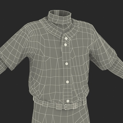 Baseball Player Outfit Generic 8. Render 37