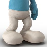 Smurf Rigged for Maya. Preview 24