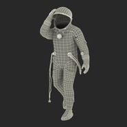 Russian Space Suit Sokol KV2 Rigged. Preview 64