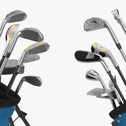 Golf Bag Seahawks with Clubs. Preview 14