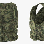 Military Camouflage Vest. Preview 5