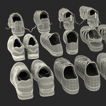 Sneakers Collection 4. Render 139