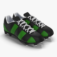 Football Boots 2 Green. Preview 1