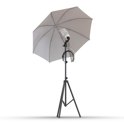Photo Studio Lamps Collection. Render 45