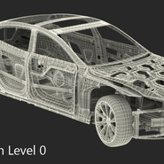 Tesla Model S Frame and Chassis. Preview 32