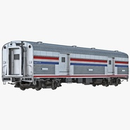 Railroad Baggage Car Generic