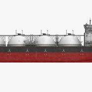 Gas Carrier Ship. Preview 5