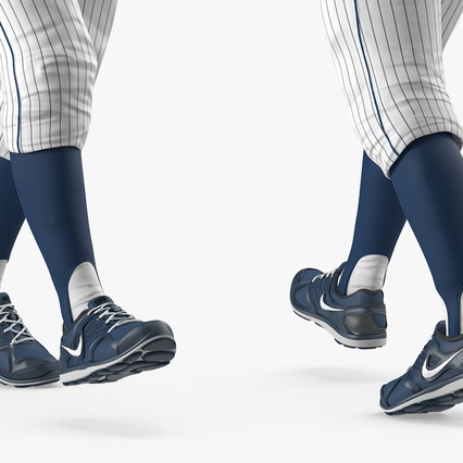 Baseball Player Rigged Twins 2. Render 16