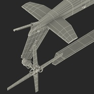 Attack Helicopter Bell AH 1Z Viper Rigged. Preview 102