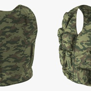 Military Camouflage Vest. Preview 6