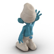 Smurf Rigged for Maya. Preview 19