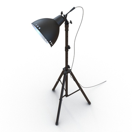 Photo Studio Lamps Collection. Render 33