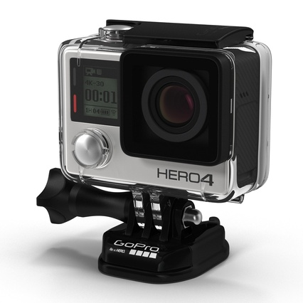 GoPro Collection. Render 3