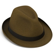Fedora Hat Brown. Preview 12