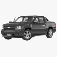 Chevrolet Avalanche 2015 Rigged