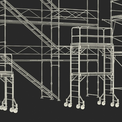 Scaffolding Collection 2. Render 58