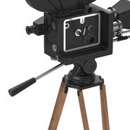 Vintage Video Camera and Tripod. Preview 17
