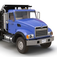 Dump Truck Mack Rigged. Preview 49
