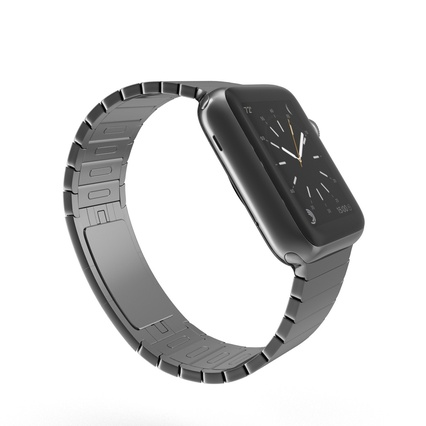 Apple Watch 38mm Link Bracelet Dark Space 2. Render 9