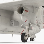 Grumman E-2 Hawkeye Tactical Early Warning Aircraft Rigged. Preview 19