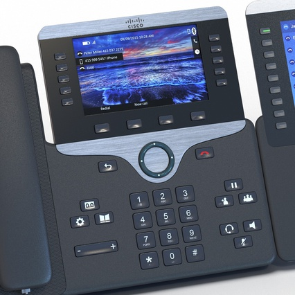 Cisco IP Phones Collection 6. Render 26