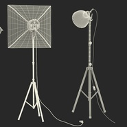 Photo Studio Lamps Collection. Preview 74
