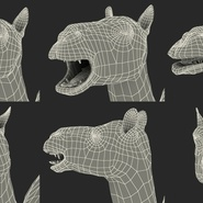 Camel Rigged for Cinema 4D. Preview 36