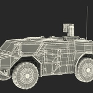 Fennek German Reconnaissance Vehicle Rigged. Preview 5